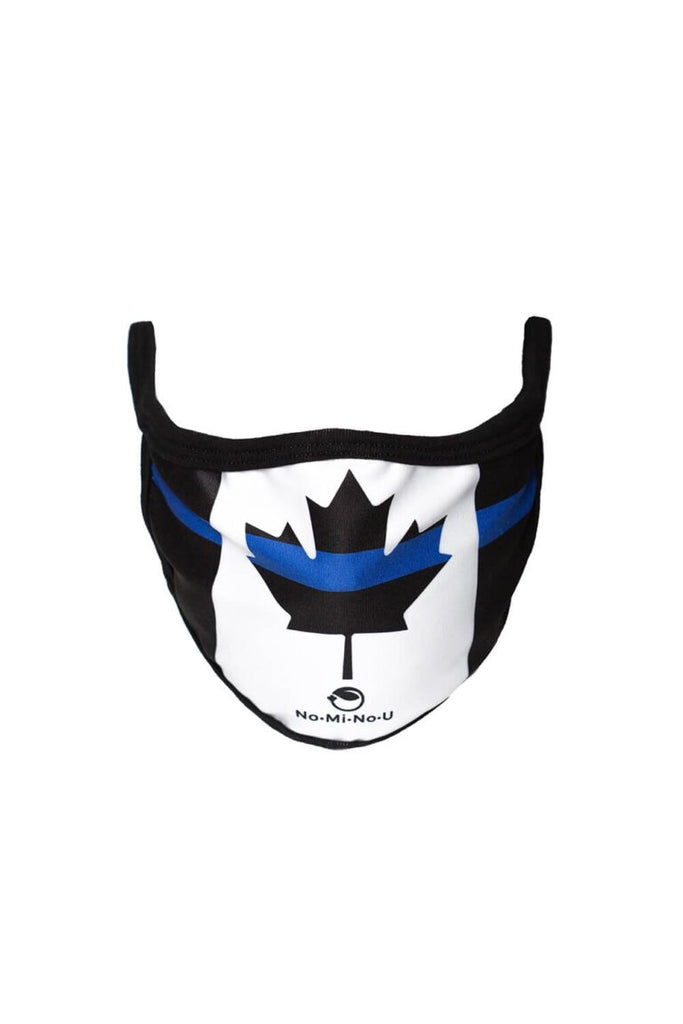 Consideration Mask: Frontline Maple Leaf Blue