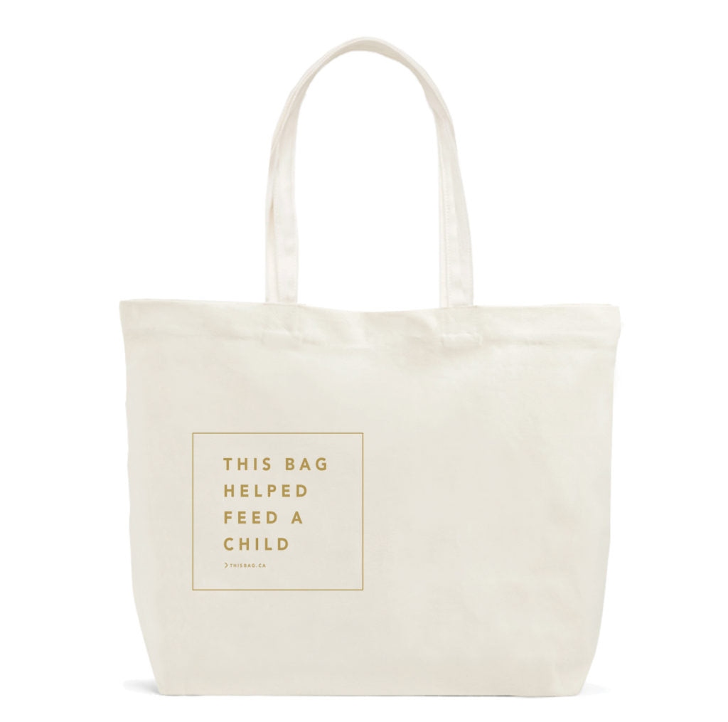 This Bag Helped Feed a Child