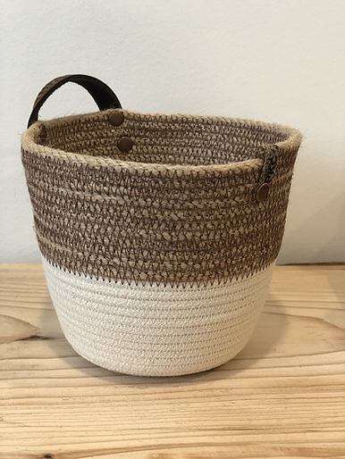 Two Toned Basket (Four Colours)