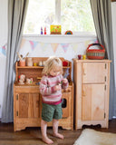 Wooden play kitchen Waldorf homeschool