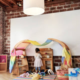 Waldorf playstands and wooden toy kitchen