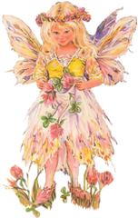 Cute fairy girl