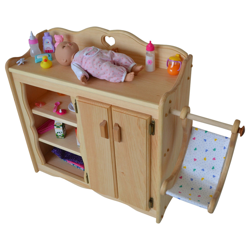 Dolly S Changing Table Elves Amp Angels Heirloom Quality