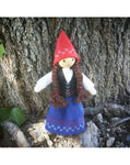 Scandinavian Inspired Caring Doll Elf Girl-Elves & Angels