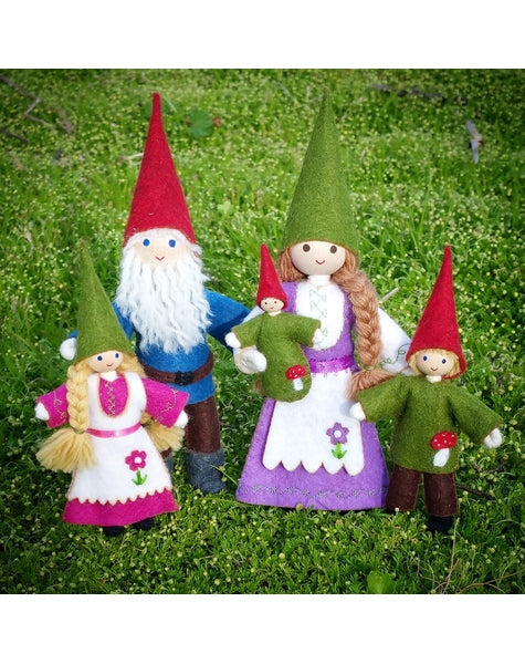 Gnome Family-Elves & Angels