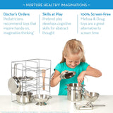 Deluxe Sturdy Pots and Pans Set-Elves & Angels