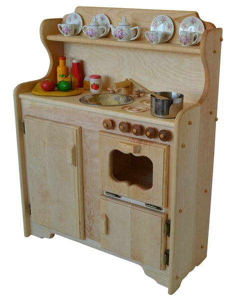 Abbie's Kitchen Deluxe in Light Hardwood-Elves & Angels