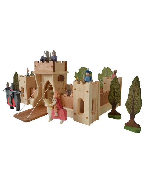 Fairy Tale Fortress Castle-Elves & Angels