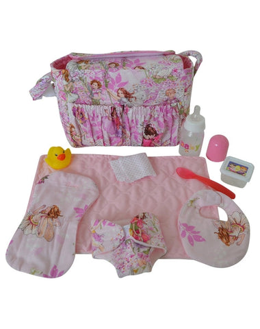 Dolly Diaper Bag-Elves & Angels