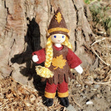 Autumn Elf Doll Girl-Elves & Angels