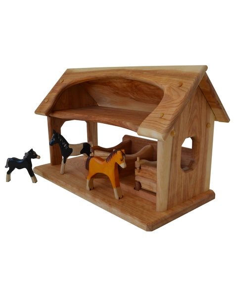 Sunset Stable in Hardwood-Elves & Angels