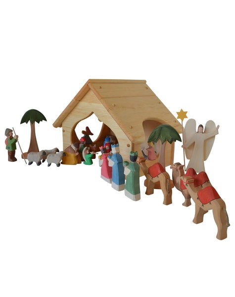 Nativity Stable-Elves & Angels