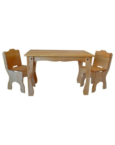 Downeast Cottage Table and Chair Set-Elves & Angels