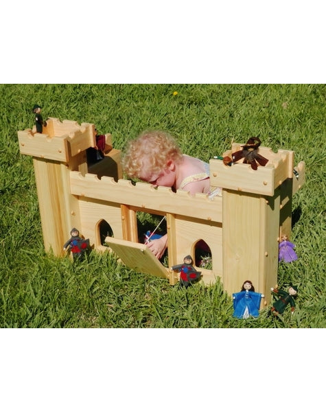 Natural Royal Dollhouse Family-Elves & Angels