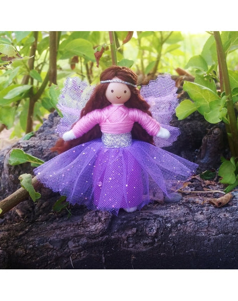 Sparkle Fairy Pink & Lilac-Elves & Angels