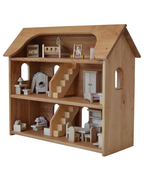 Seri's Dollhouse in Hardwood-Elves & Angels