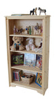 "Cadillac Mountain 29"" x 52"" Tall solid wood Bookcase-Elves & Angels"
