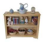 "Port Clyde 38"" x 29 1/2"""" Tall solid wood Bookcase-Elves & Angels"