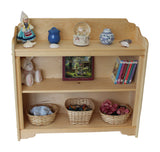 "Rockport Harbor 38"" x 35"" Tall solid wood Bookcase-Elves & Angels"