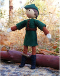 Natural Robin Hood Doll-Elves & Angels