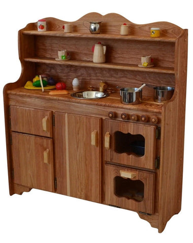 Grammie's Kitchen Deluxe in Dark Hardwood-Elves & Angels
