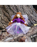 Purple Sparkle Fairy-Elves & Angels