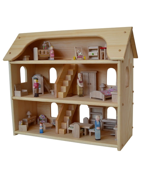 Delightful Seriu0027s Dollhouse Set Elves U0026 Angels
