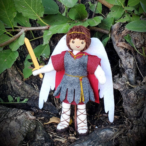 Saint Michael Doll Archangel-Elves & Angels