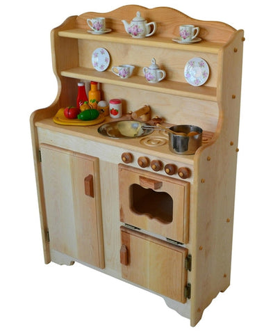 Sylvie's Kitchen Deluxe in Light Hardwood-Elves & Angels
