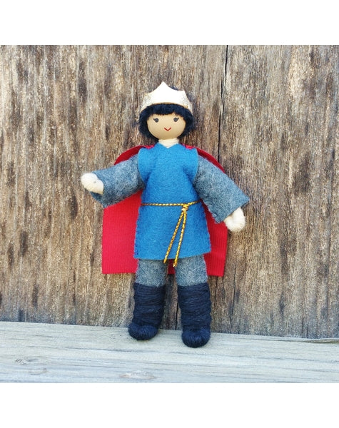 Natural Dollhouse Prince Doll-Elves & Angels