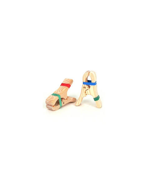 Wooden Play Clips (Waldorf Playclips-Elves & Angels