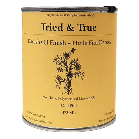Tried and True Natural Danish Oil Finish-Elves & Angels