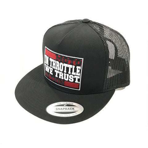 In Throttle We Trust Trucker Hat 2.0