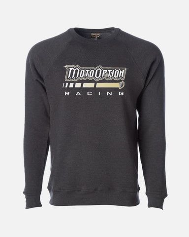 ACCELERATE CREWNECK SWEATSHIRT - HEATHER CHARCOAL