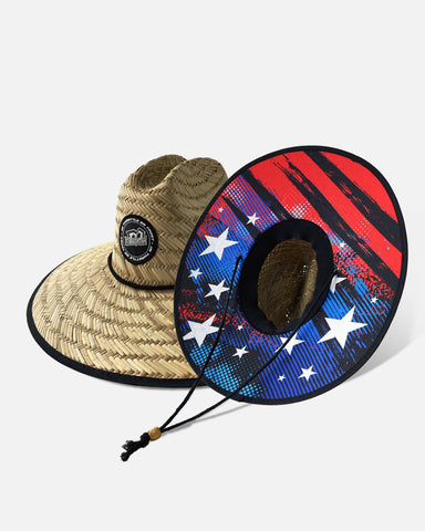 GONE WILD STRAW HAT