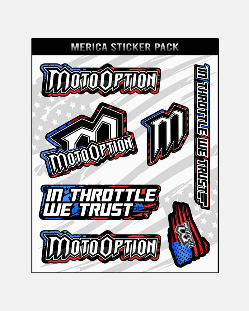 MERICA' STICKER PACK