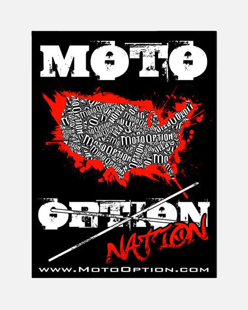 MOTO NATION STICKER
