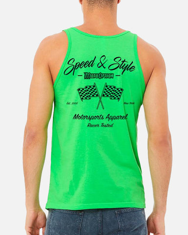 SPEED AND STYLE TANK - GREEN
