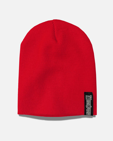 STOCK BEANIE - RED