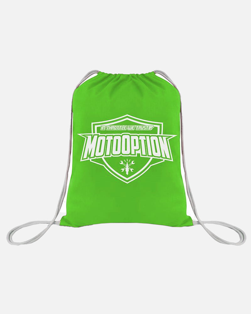 Drawstring Backpack - Green