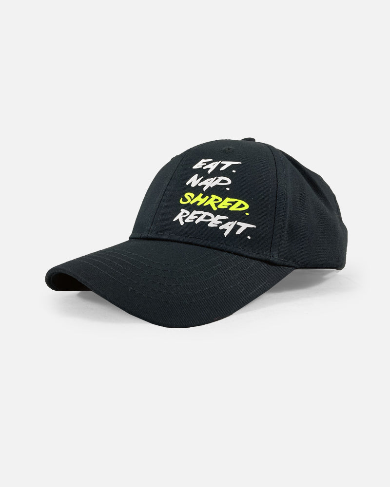 YOUTH EAT NAP SHRED HAT - BLACK