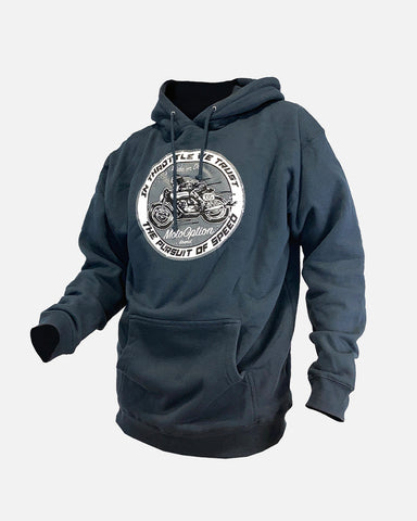 PURSUIT OF SPEED HOODIE - NAVY