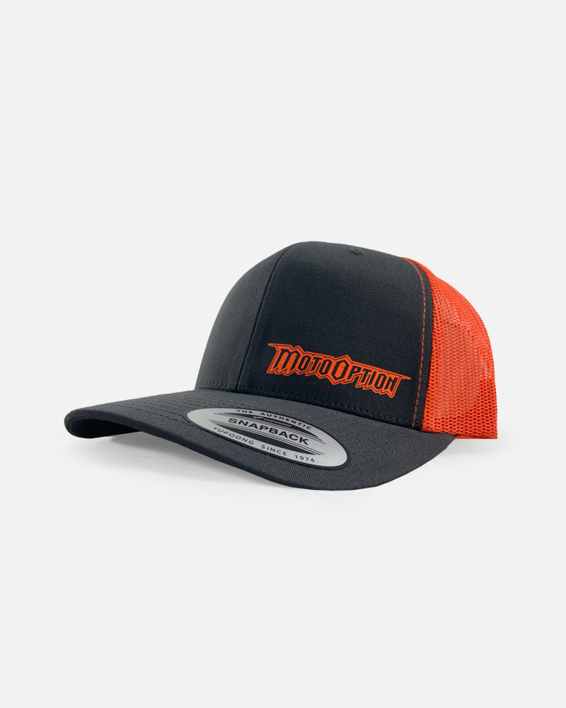 ACE TRUCKER HAT - NEON ORANGE
