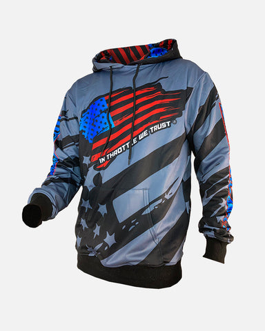 WAVE THE FLAG PREMIUM HOODIE