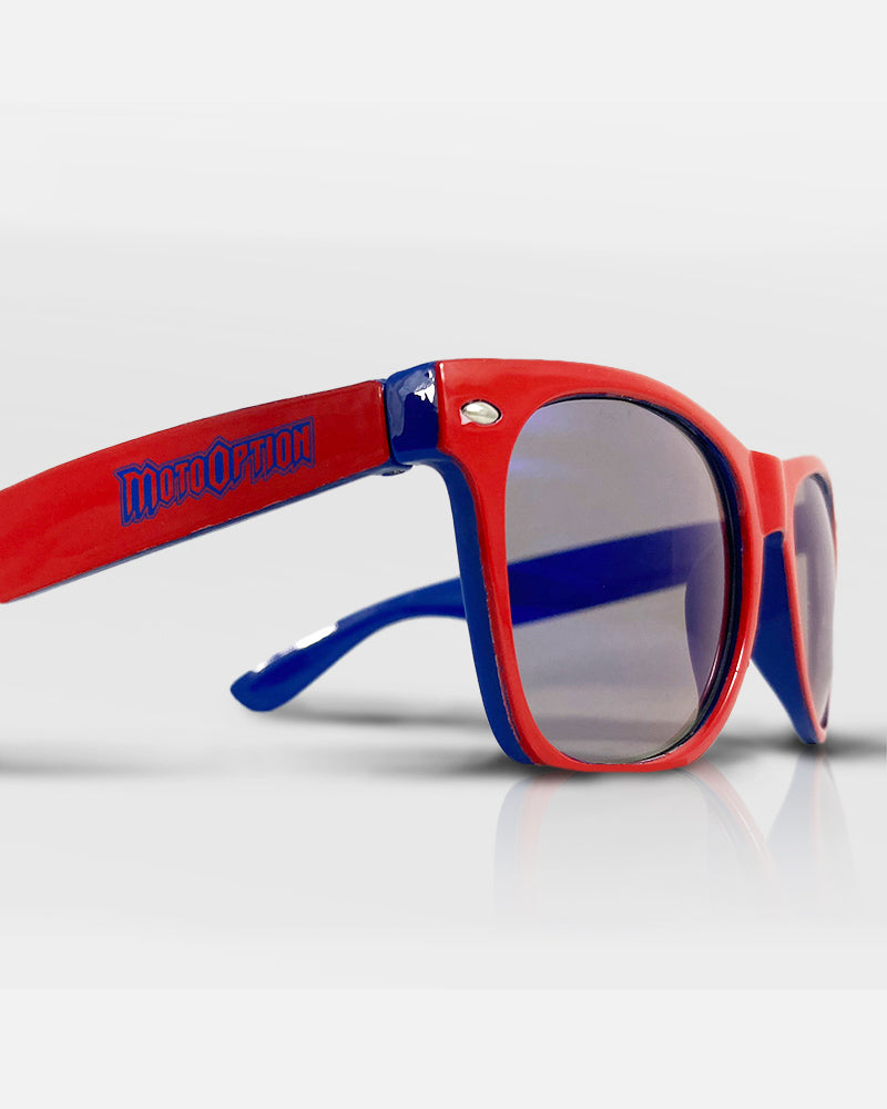 SUNGLASSES - RED / BLUE