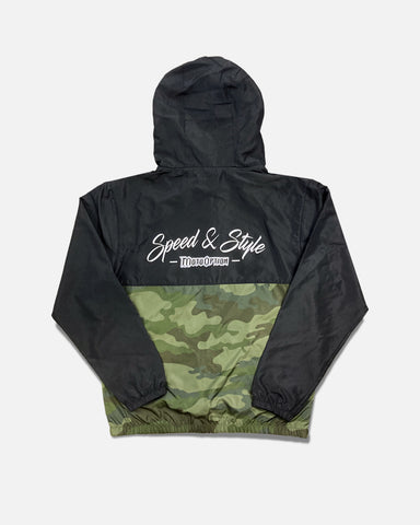 YOUTH SPEED AND STYLE WINDBREAKER - CAMO