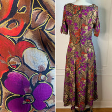 Load image into Gallery viewer, Vintage 90s Floral Maxi Dress