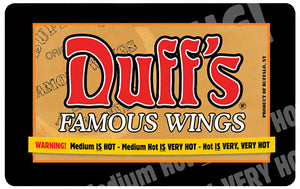 Duff's Famous Wings Gift Cards