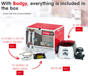 Evolis Badgy 200 - Industrial Labelling supplies