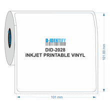 Inkjet Vinyl Label 101x101mm - Industrial Labelling supplies